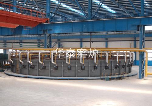φ18m天然气环形加热炉