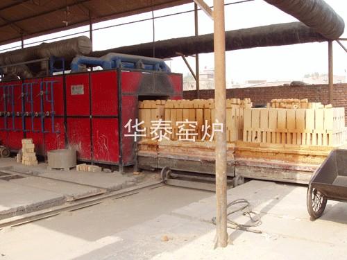 耐火材料隧道窑2