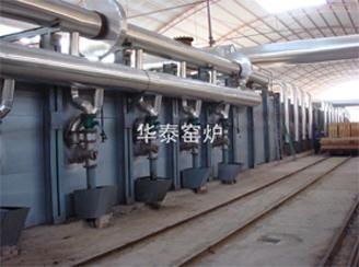 High temperature tunnel kiln